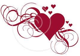 VAlentines day stylized heart